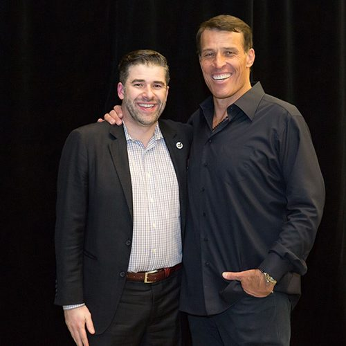 Tony Robbins & Morgan Pierce
