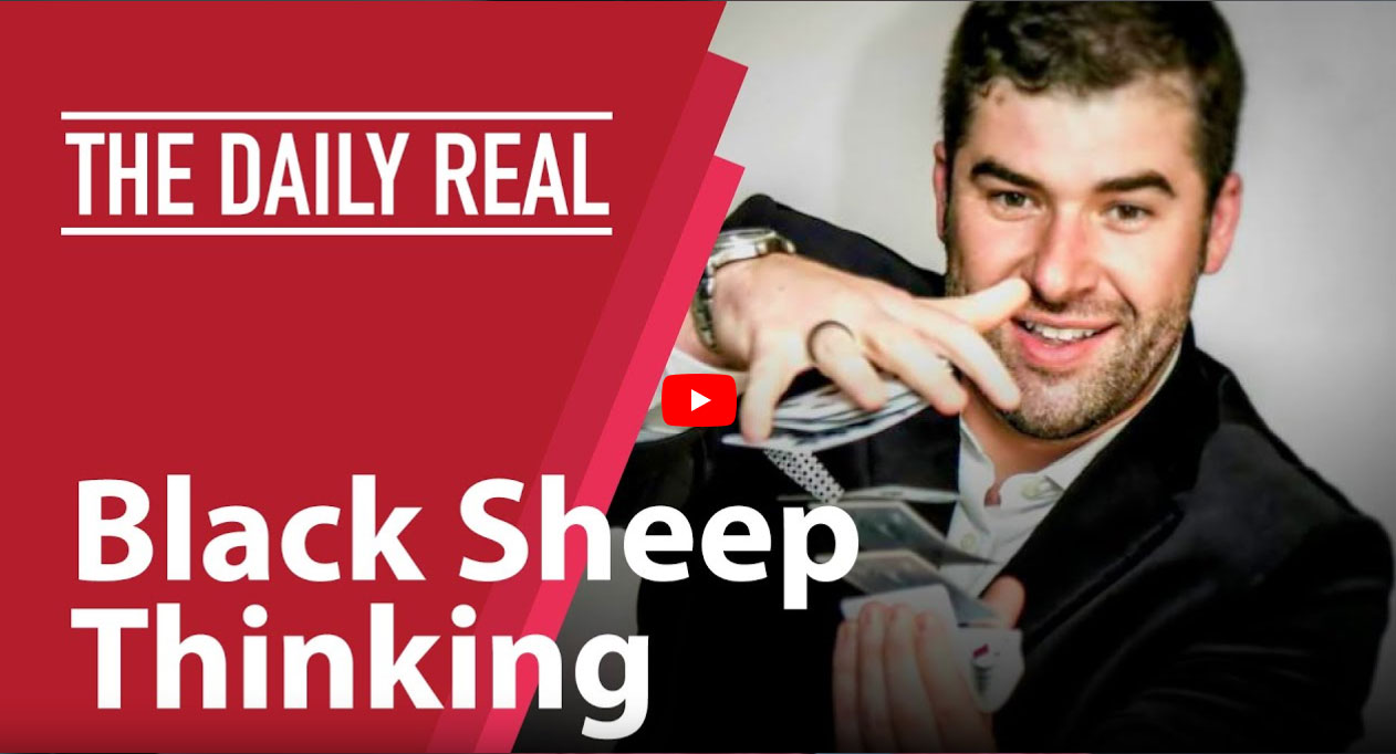 Black Sheep Thinking With Morgan Pierce – The Daily Real